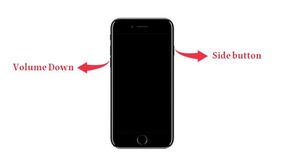 how to put iphone in dfu mode - iphone7