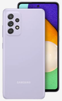 samsung 5g phone - a52