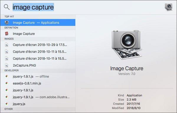 back up iphone or ipad to external hard drive via image capture on mac