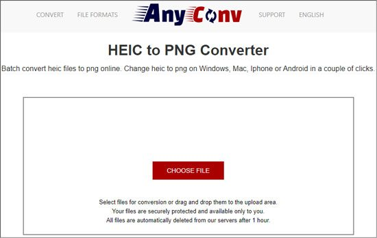 online heic to png converter
