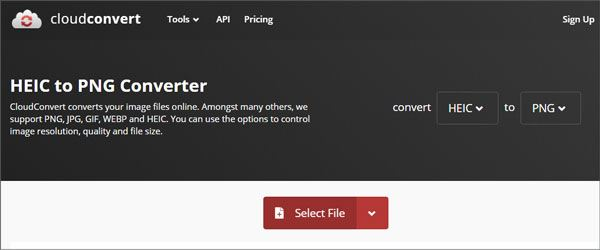 convert heic to png via online cloud converter