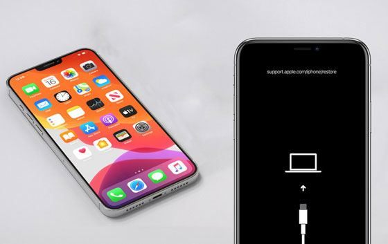 how to get iphone out of dfu mode