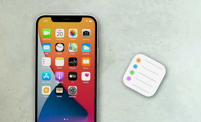 how to restore reminders on iphone