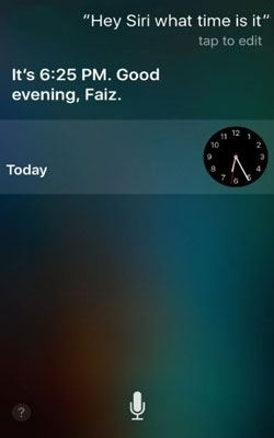 figure out iphone passcode with siri
