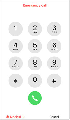 figure out iphone passcode via emergency calls
