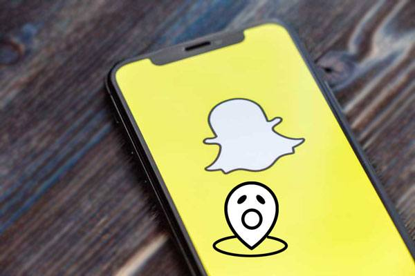 how to change your location on snapchat