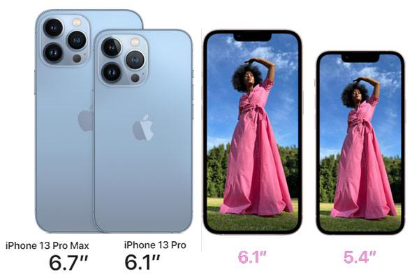 iphone 13 and iphone 13 pro design