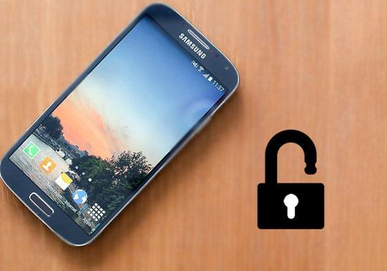 how to unlock galaxy s4 pin code