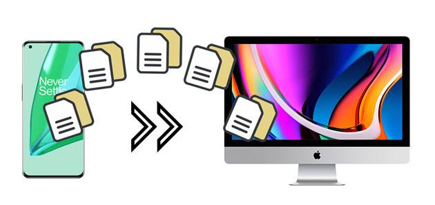 how to transfer files from oneplus to mac