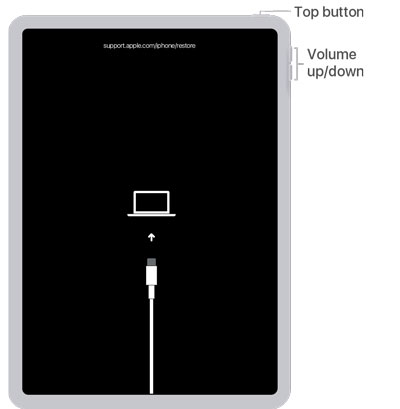 reset ipad without password using recovery mode