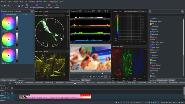 edit movies with the video editor