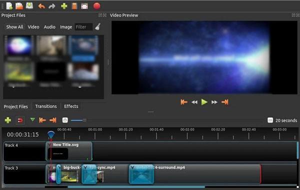 use openshot to edit avi videos