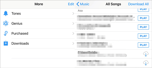 retrieve deleted music from iphone via itunes store