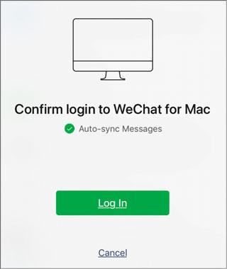 back up wechat to pc via web wechat